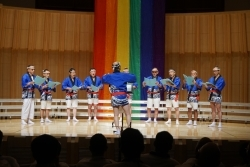 Men's Voice Kansai in performance