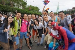 3 Chinese choirs at Taipei Pride